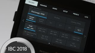 Blackmagic RAW Technology Introduced – 12 bit Compressed RAW Camera Internal for Free
