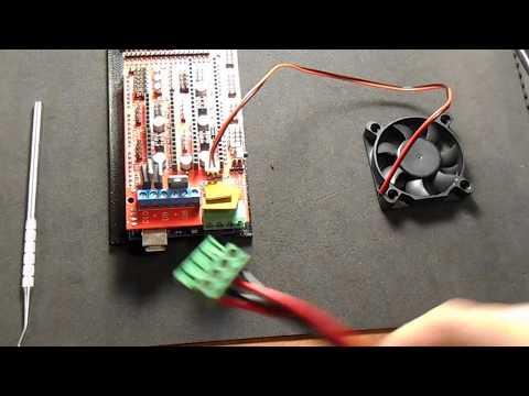 ramps 1 4 board cooling fan youtube Ramps End Stop Wiring
