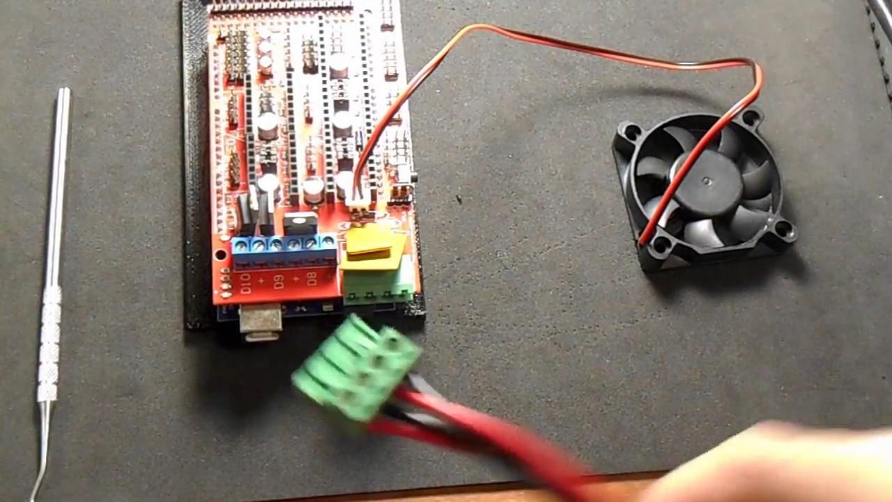 ramps 1 4 - board cooling fan