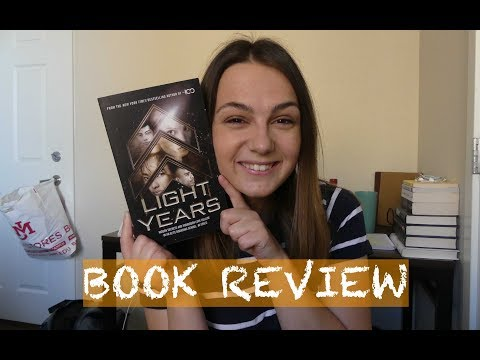 LIGHT YEARS By Kass Morgan   Book Review