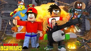 ROBLOX BED WARS - THE FIRST EVER LITTLECLUB ROBLOX BED WARS!!