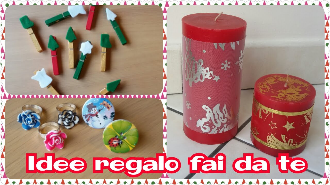 Favorito Idee Regalo per Natale low cost e fai da te - YouTube FB48