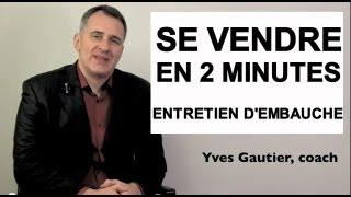 🏆 Parlez moi de vous en entretien d'embauche (exemple de réponse par Yves Gautier)