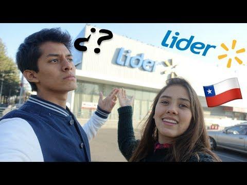VAMOS AL SUPERMERCADO EN CHILE
