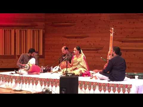 Concert with Smt. Sudha Raghunathan - Solo by Akshay Anantapadmanabhan