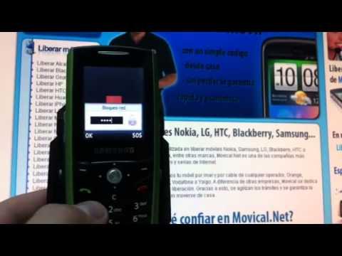 Liberar Samsung E200, desbloquear Samsung E200 de Orange Movical Net