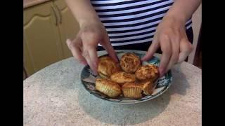 ПП Рецепт: булочки (они же маффины) из овсяных отрубей