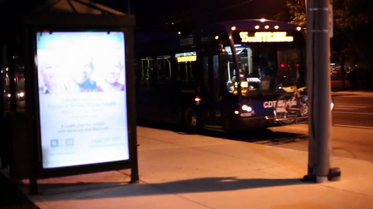 CDTA shows off solar-powered bus stop