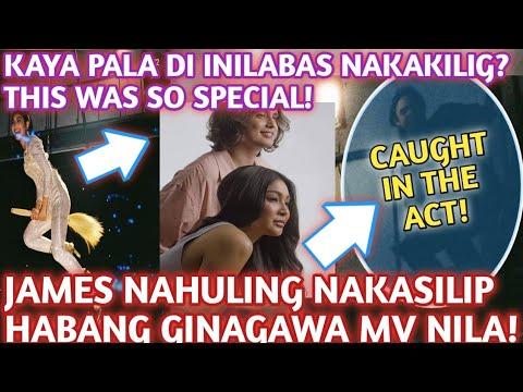 Download OMG!JAMES NAHULING NAKASILIP HABANG GINAGAWA NI NADINE ANG MV NILA! KAYA PALA DI INILABAS NAKAKILIG?