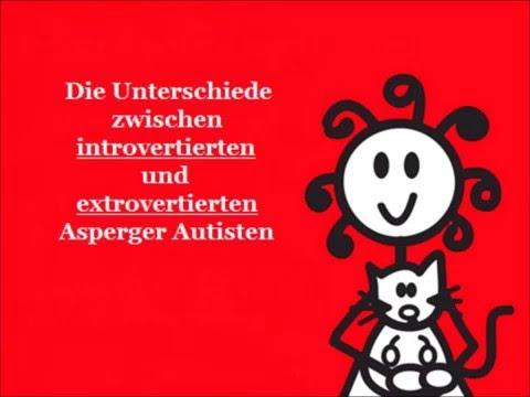 Unterschiede zwischen introvertierten und extrovertierten Asperger Autisten