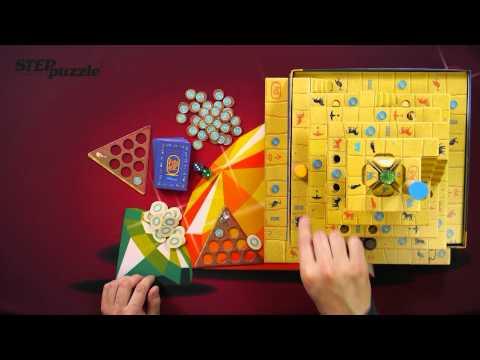 Видео инструкция к правилам игры Сокровище РА. 3D настольная игра.