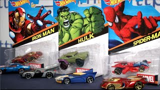 Hot Wheels Marvel Collection from Mattel