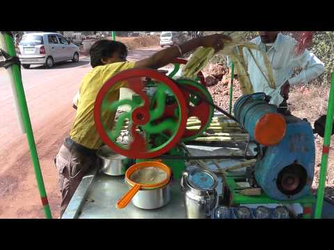 Sugar Cane Juice India Goa
