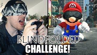 BLIND SPIELEN? | BLINDFOLDED-CHALLENGE! (Mario Odyssey)
