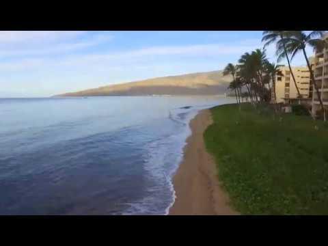 Sugar Beach Resort Drone Flyover - Condominium Rentals Hawaii