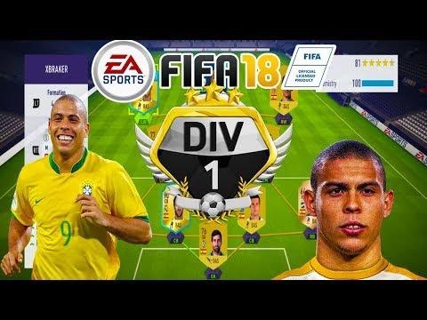 Meci Dramatic si 16 Goluri Marcate - iL Fenomeno Ronaldo De Neoprit - FIFA 18 Ultimate Team