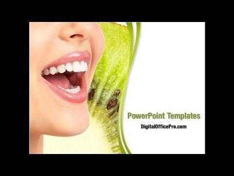 dental powerpoint template backgrounds - digitalofficepro #01441, Modern powerpoint