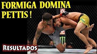 Resultados da luta JUSSIER FORMIGA vs  SERGIO PETTIS   Resultados do UFC 229   McGREGOR x NURMAGOMED