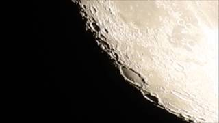 Super Zoom Moon Footage 11-11-2016 P900 (Flat Earth)