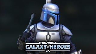 Jango Fett Defeats Traya Lead - Star Wars: Galaxy Of Heroes - SWGOH
