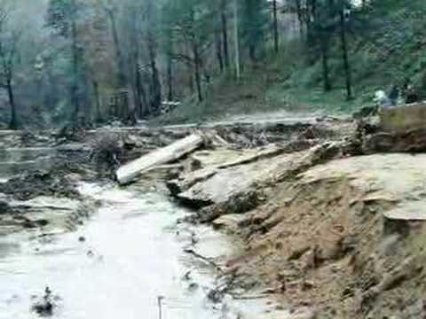 Toccoa Falls Ga >> Toccoa Falls Dam Failure - YouTube