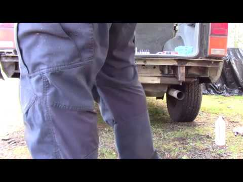 Removal of the Rear Bumper on a Jeep Cherokee XJ
