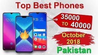 Best Phones Under 35000 and 40000 in Pakistan 2018