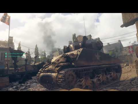 15 Minutes Of Call Of Duty: WW2's War Mode (Operation Breakout) On PS4 Pro