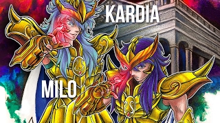 MILO e KARDIA de Escorpião (Saint Seiya) - Speed Drawing #52