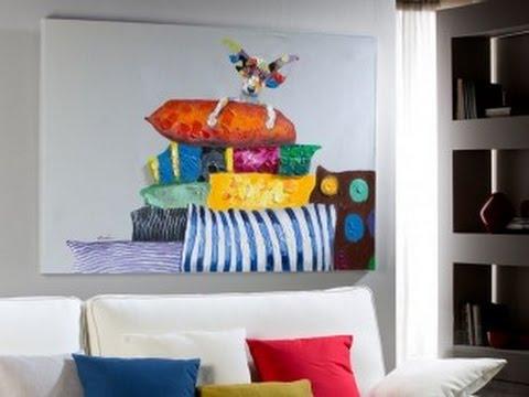 Ideas para la decoracion de tu casa 10 bonitos cuadros - Cuadros para la pared ...