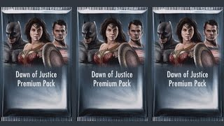 OPENING DAWN OF JUSTICE PREMIUM PACKS | Injustice Gods Among Us (iOS/Android)