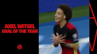 Axel Witsel - Winner Goal of the Year 2017 Video