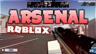 Arsenal is SO MUCH FUN! (Roblox)