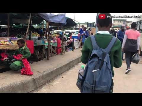 Real Streets of Manzini Eswatini (Living in Swaziland) || Sonny Gavin