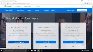 Download and Install Visual Studio 2017 FREE | FoxLearn