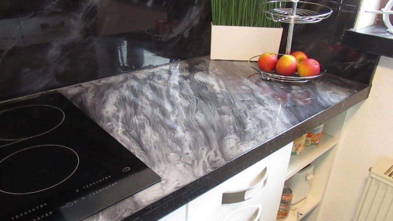 Küchenprojekt mit Epoxy - Arbeitsplatte (DIY)