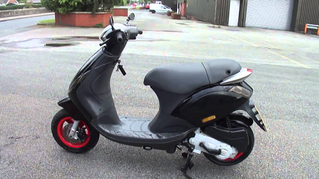 2008 piaggio zip 50 4t scooter moped 9k miles great runner new mot tax gc nice youtube. Black Bedroom Furniture Sets. Home Design Ideas