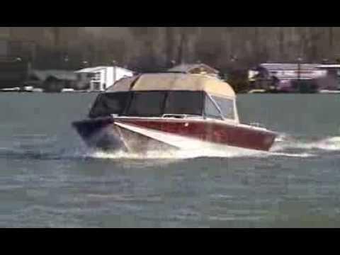 22' River Wild Jet Boat