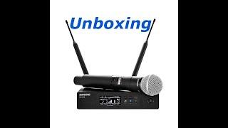 Shure QLX-D unboxing QLXD24/SM58