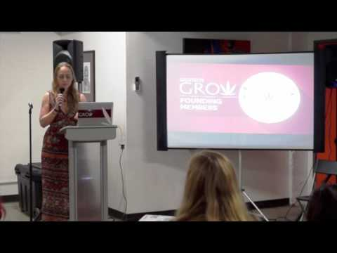 Jazmin Hupp, CEO of Women Grow at WVC Women and Cannabis Salon