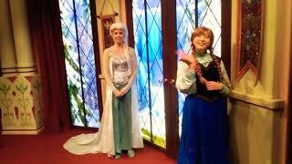 Anna & Elsa Asked me if I want a job.
