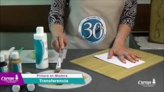 Pintura en Madera - Combinación de Técnicas