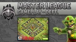 Master League Gameplay - Deff. I Clash of Clans [Deutsch/German]