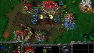 WarCraft III JapanCup rivival tournament -semi final 2