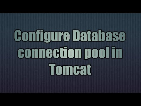 10.Configure Connection Pool In Tomcat8.x