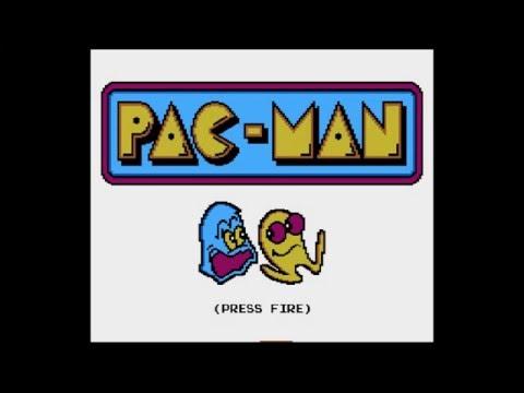 Pac Man Arcade - Atari 5200 Homebrew