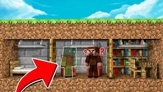 GÖRÜNMEZ HIRSIZ EVE GİRİYOR! 😱 - Minecraft