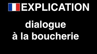 complement video : boucherie