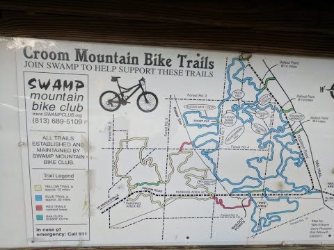 Trail Review:  Croom in Brooksville, FL