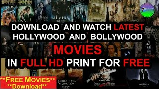 How to Download Latest Hollywood, Bollywood Movies Direct Without Torrent | Watch Latest Movies 2019